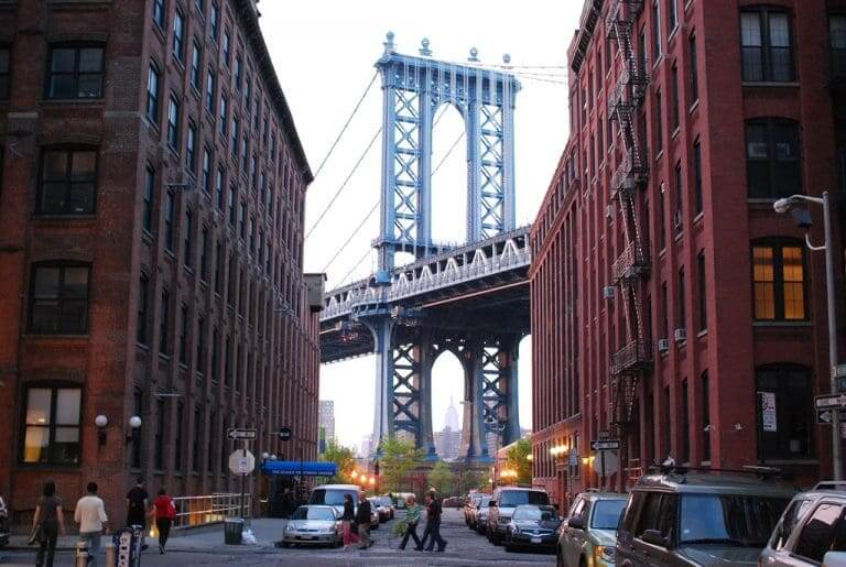 Dumbo as one of the best New York neighborhoods