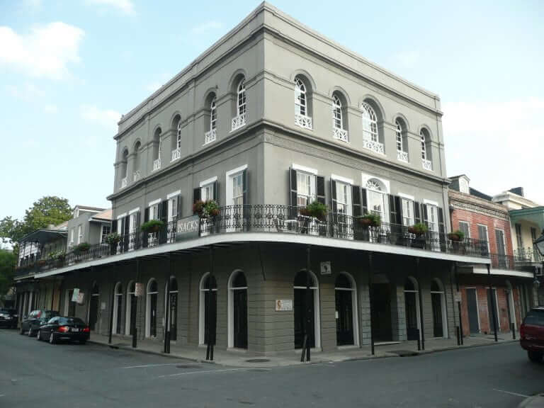 Lalaurie House New Orleans, known as a haunted house
