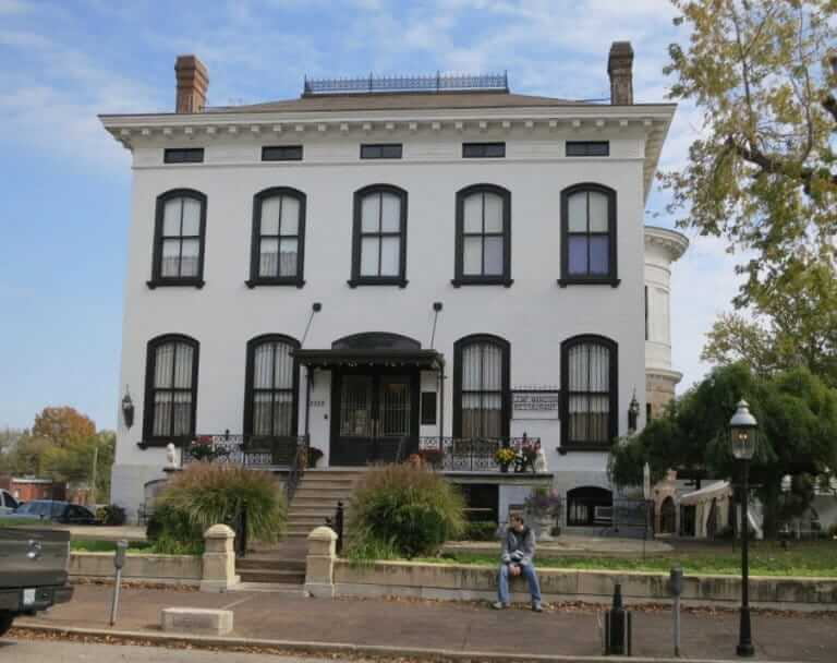 Lemp Mansion St. Louis, known as a haunted house