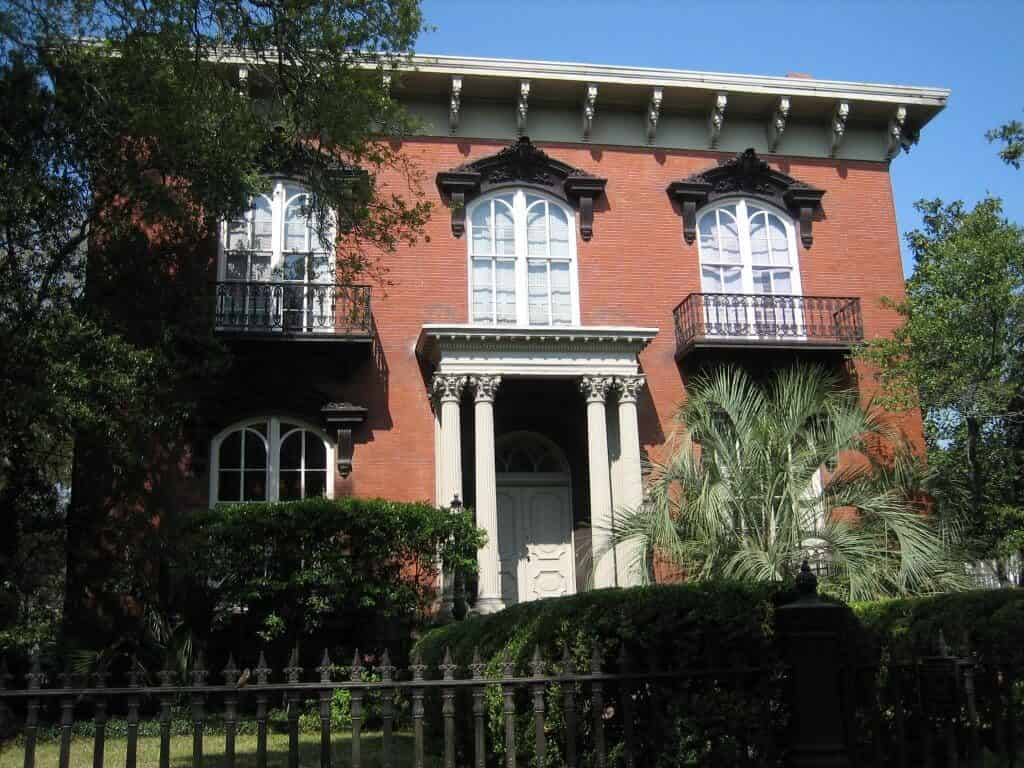 Mercer Williams Savannah, known as a haunted house