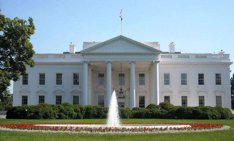The White House DC, known as a haunted house