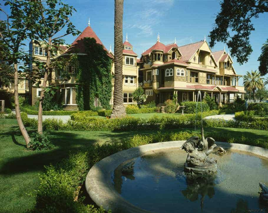 Winchester House San Jose, known as a haunted house