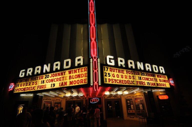 Granada Theatre in Greenville Dallas