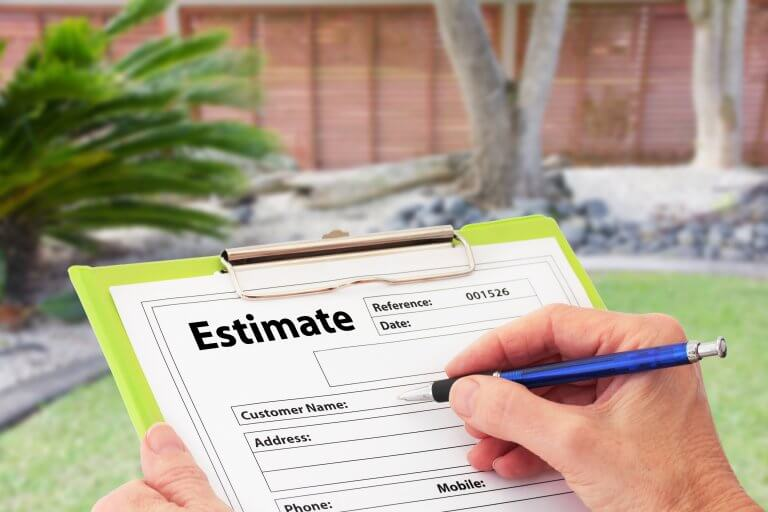 Writing down an estimate