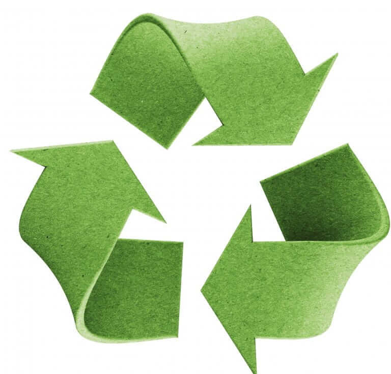 Green recycle mark
