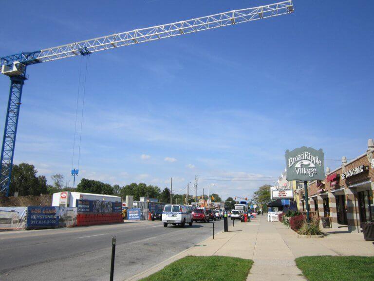 Board Ripple Village in Indianapolis