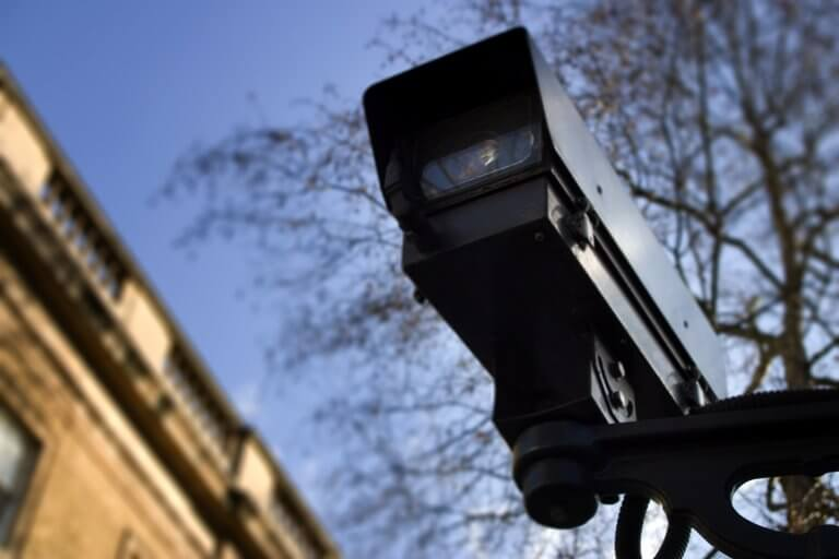 Surveillance camera in a smart city