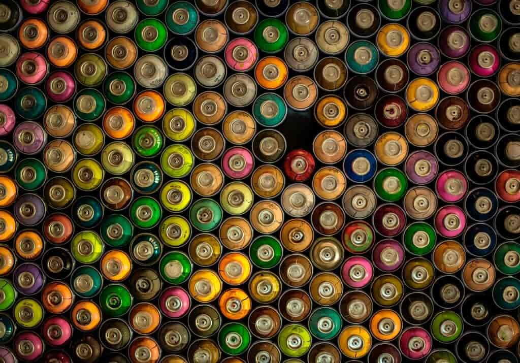 Aerosol cans are hazardous material and should be safely disposed of