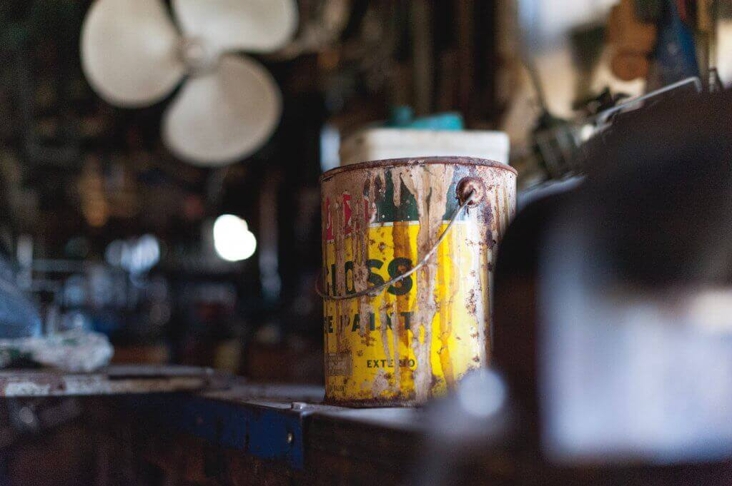 Rusted cans are dangerous and considered to be hazardous material