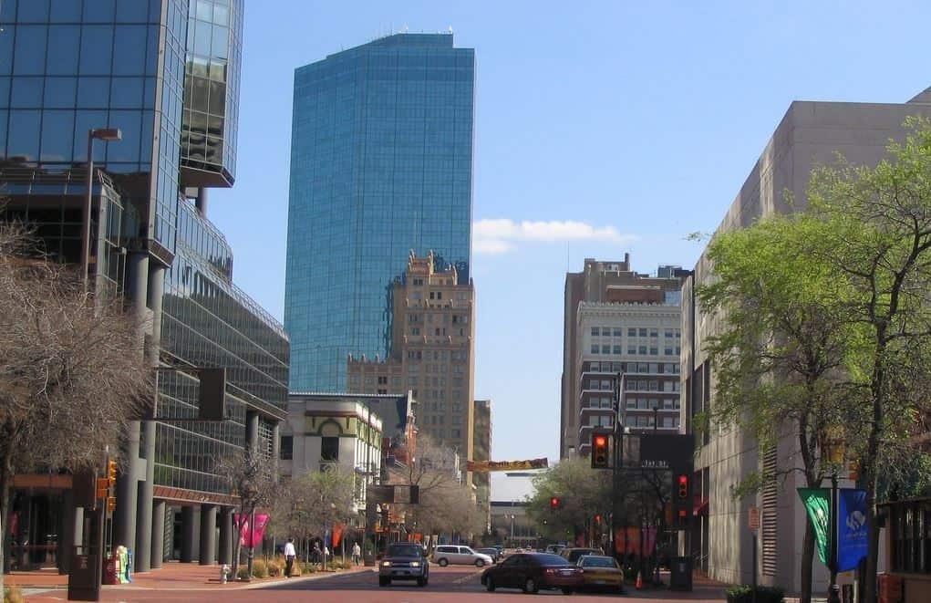 Skyscraper in Dallas Fort Worth