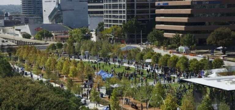 Massive growth in Dallas downtown