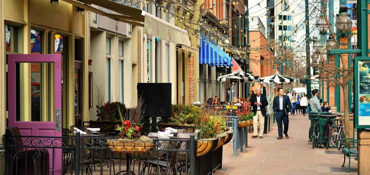 Denver downtown streets