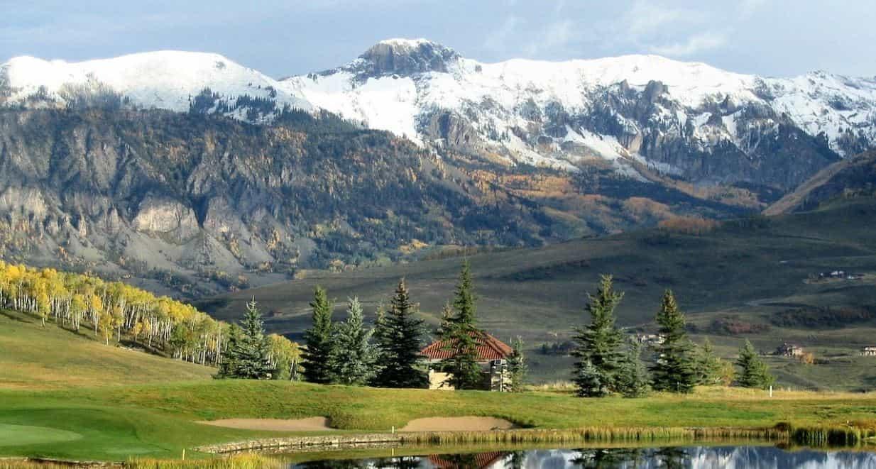 Denver mountain view