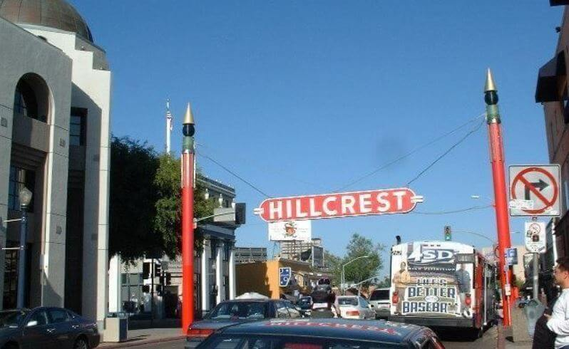 Hillcrest is located just steps from the San Diego Zoo