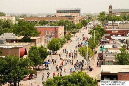 Artists' town Magnolia Avenue area