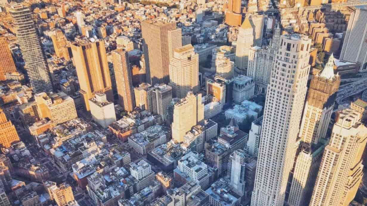 NYC sky view