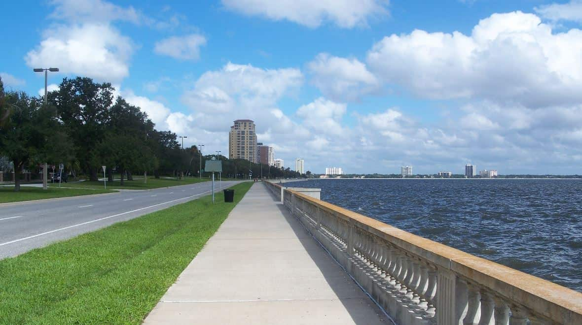 Palma Ceia is located on the southern end of the city, and it's one of the best places to live in Tampa for families