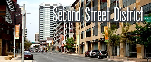 Second Street District is located Just north of the Colorado River and south of Downtown Austin