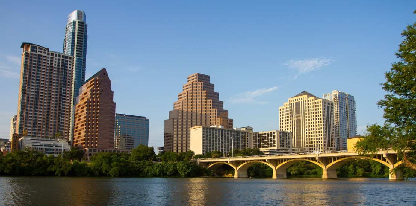 Austin Texas city view