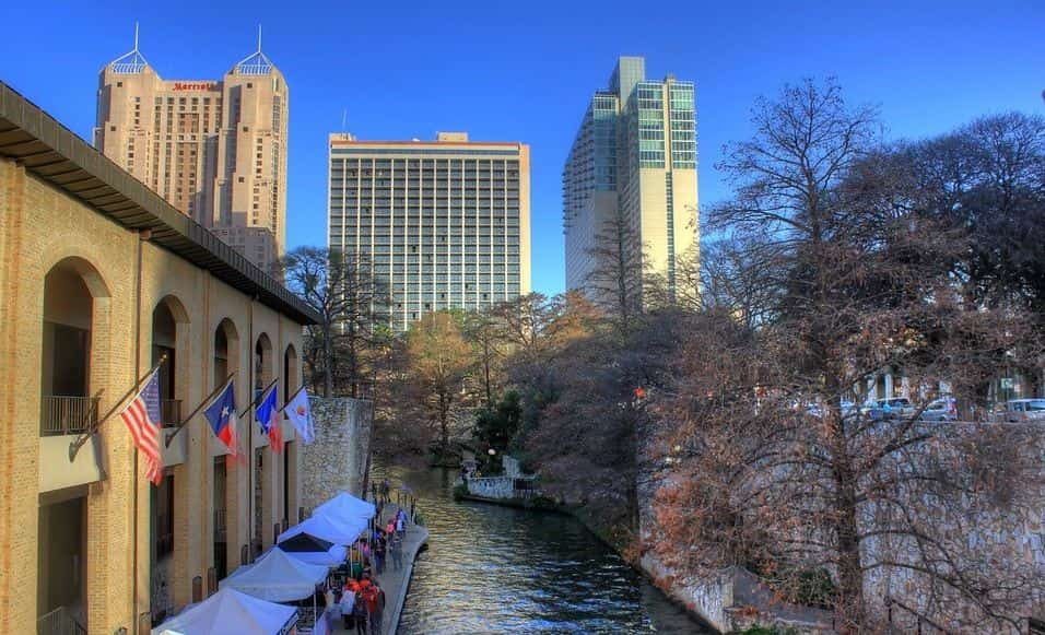 River view in San Antonio