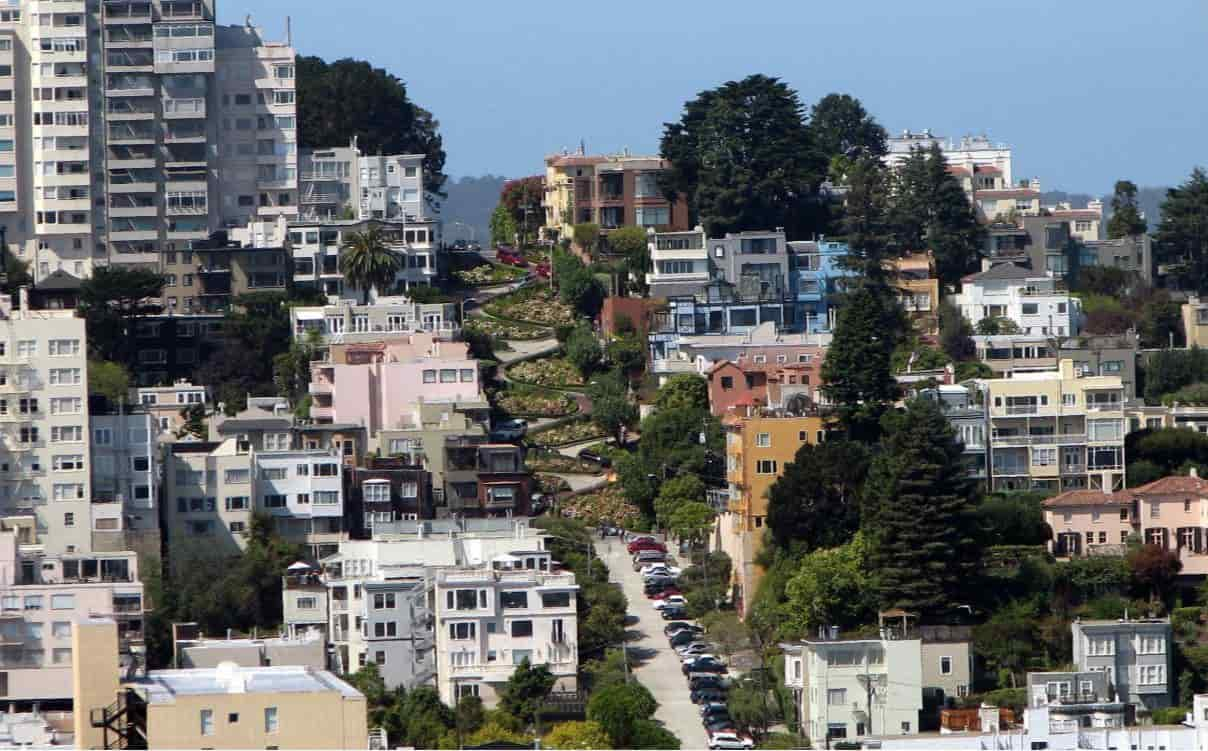 San Francisco residential area