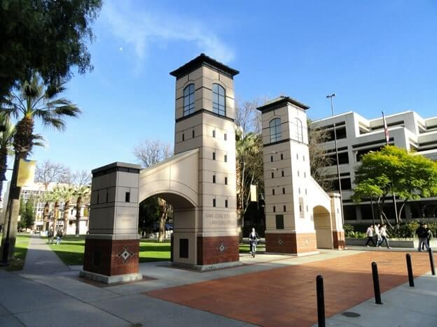 Architectural gates in San Jose