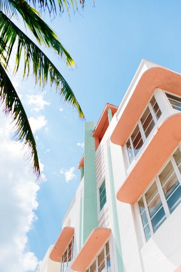 South Beach Neighborhood Attraction Art Deco Photo
