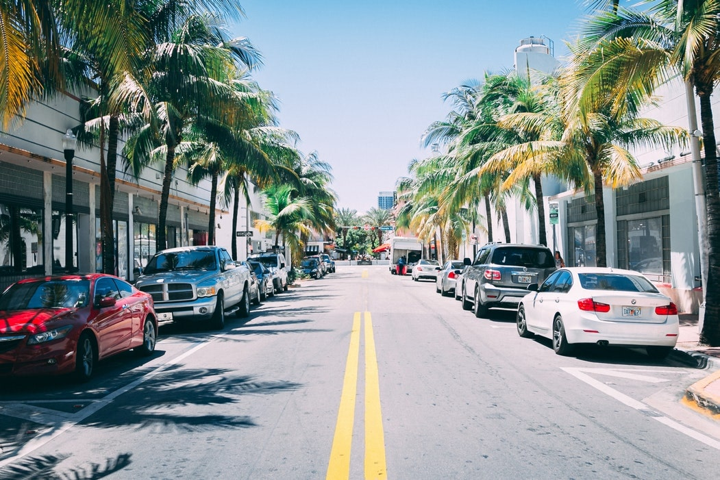 South Beach Neighborhood Attraction Collins Avenue Photo