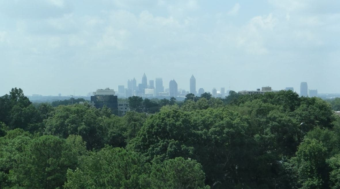 Far shoot of downtown Atlanta