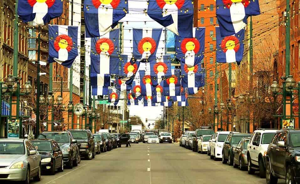 Larimer Street Road in Denver CO
