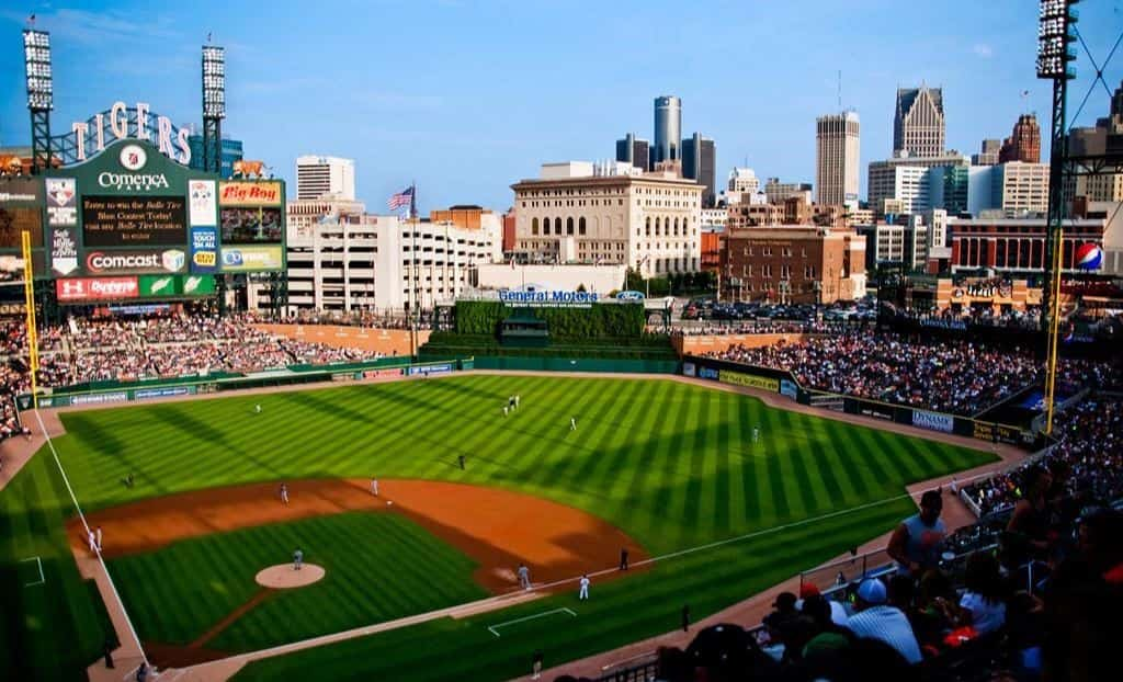 Detroit tigers home stadium