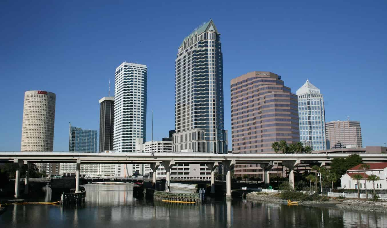 Skyscrapers in Downtown Tampa