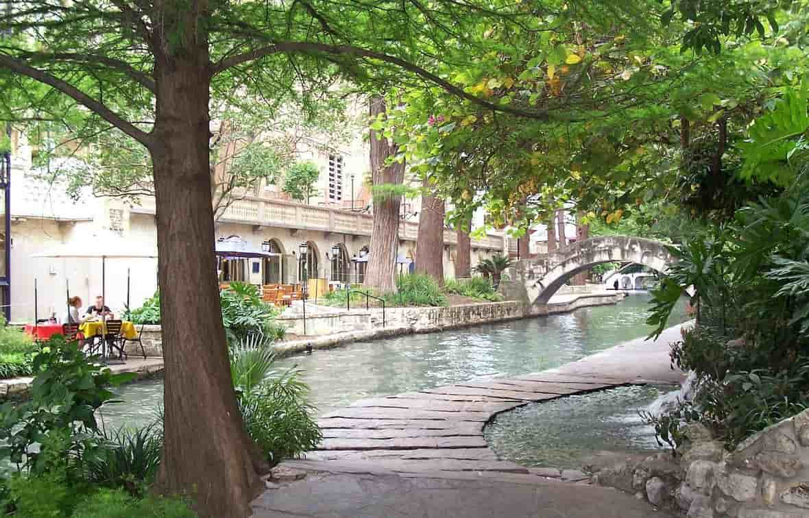 A stream in San Antonio