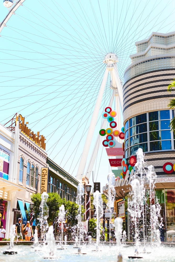 Vegas the lakes attractions the high roller