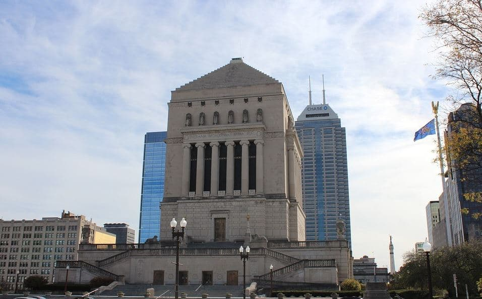 Indiana World War Memorial in Indianapolis