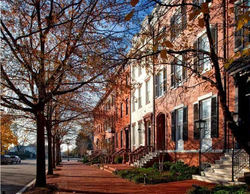 Washington D.C. historical apartment
