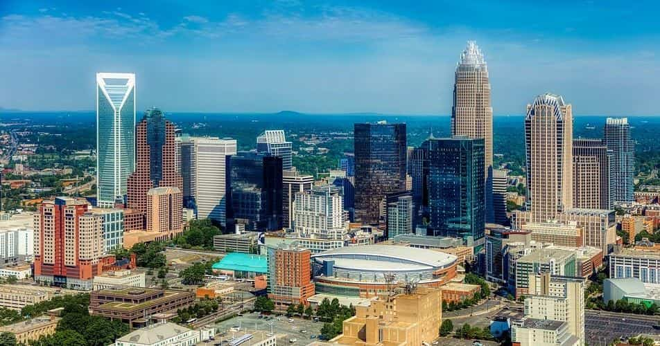 Charlotte city far view