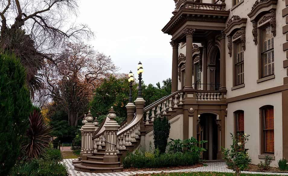 Historical building in Sacramento