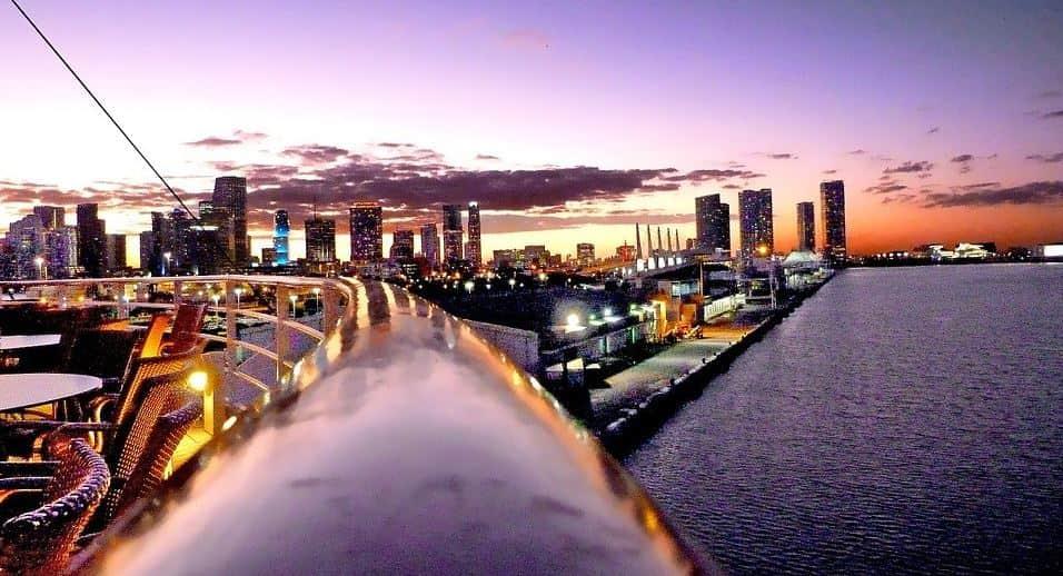 Miami Staycation idea at night