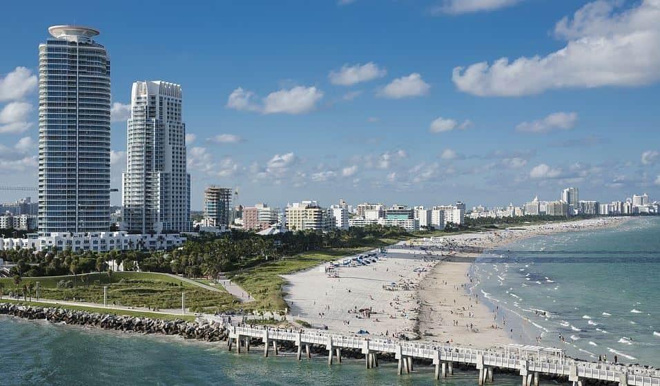 Miami lodging ideas at beach