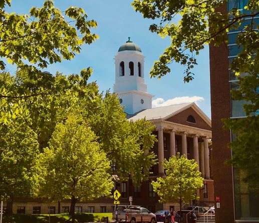 Harvard University in Prospect Hill Boston