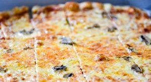Vito & Nick's Pizzeria thin crust pizza