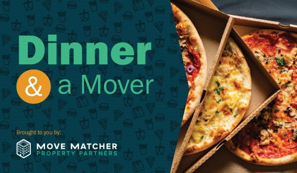 Move Matcher's Dinner and a Mover makes a difference for busy, hungry residents